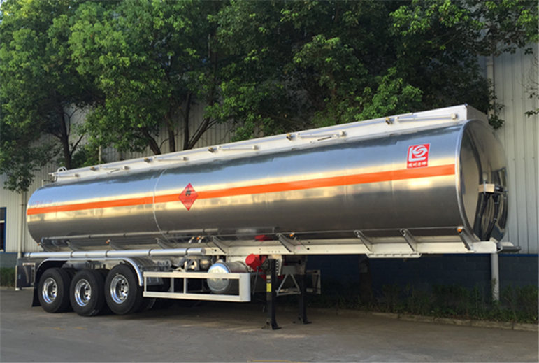 aluminium alloy tank semi trailer