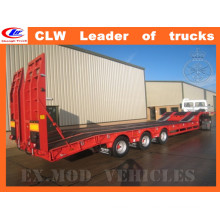 Three Axles Low Loader Trailer 60ton Semi Trailer