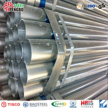 Carbon Steel Galvanized Steel Pipe with ERW Hfw