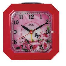 snooze table digital alarm clock/flying alarm clock/smile alarm clock