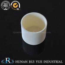 Crisol de alúmina cerámica de gran calidad con tapa