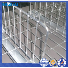 pallet rack accessories/CE certificate zinc plated wire dividers