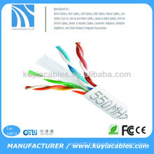 White 1000FT 23AWG Ethernet LAN Network CAT 6 Cable