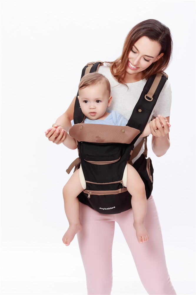 Hands Free Front Backpack Hip Seat Carrier