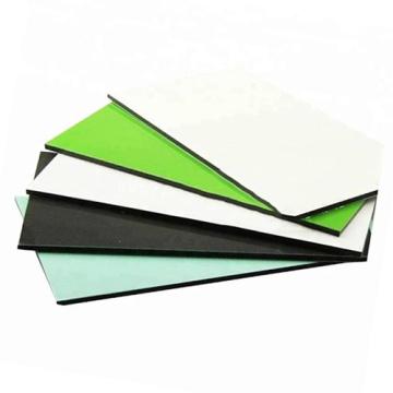 Materiales de uso comercial Panel de plástico de aluminio de fluorocarbono