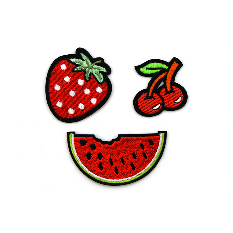 Fruit Velcro Embroidery