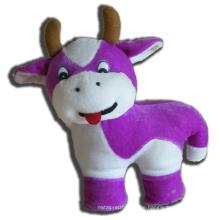 ICTI Audited Factory lila Kuh gefüllte Spielzeug