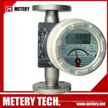 Medidor de vazão de tubo variável de tubo metálico