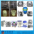 High quality low price plastic injection garbage can mould, trash bin molding