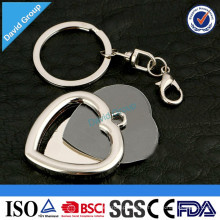 Llavero promocional de encargo del metal del proveedor de nuevos productos chinos