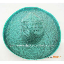 sun hat of mexican straw hat as promotional cap