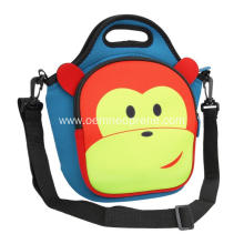 Popular school animal shape waterproof lunch cooler bag