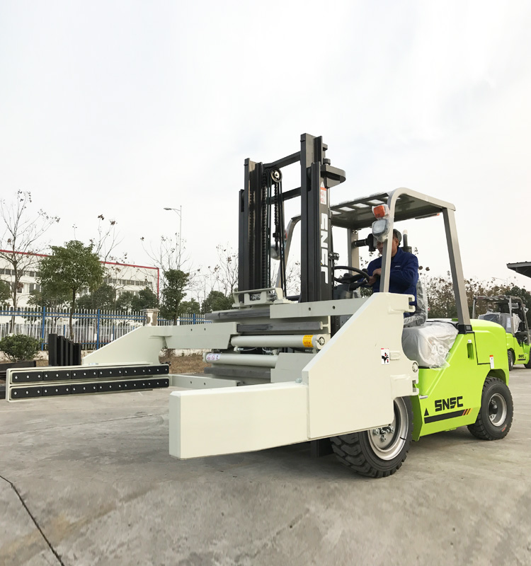 Block Clamp Forklift
