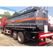 FAW 8X4 camión cisterna líquido químico 30000L