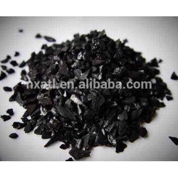 charbon actif de coquille de noix de coco pour l'affinage de l'or