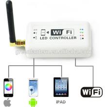 wifi rgb led controller manual smartphone lighting control zone