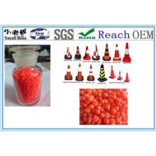 Granules de cône routier en PVC