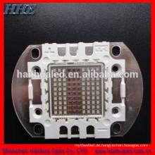 hohe Intensität 100w RGB-Mehrfarbenhohe leistung führte Komponente mit ROHS u. CER-Zertifikat