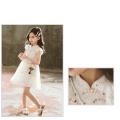 Стильное кружевное платье принцессы для девочек