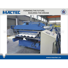 High quality automatic aluminium roof tile roll forming machine