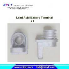 X1 terminal de plomo de la batería de ácido de plomo Die Casting Machine