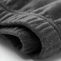 Мужские брюки из микрофлиса с эластичной талией