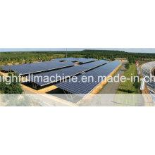 HDG Q235B Наземный роликовый кронштейн для солнечных батарей