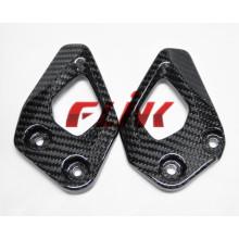 Plaques de talon de fer de carbone de motocyclette (BM119) pour BMW R1200GS 2013-2015