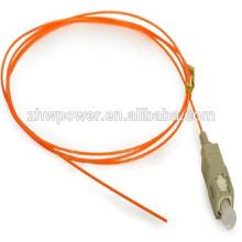 Fibre sc fibre optique cochon, 3.0m Fibre Pigtail, SC PC Multi Mode 0.9mm MM 50/125