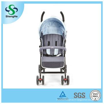 Poussettes multifonctions pour bébé avec couvercle de pluie Double frein à pied (SH-B9)