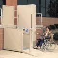 Kleiner Heimaufzug für behinderte Menschen und ältere Menschen