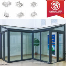 Factoy Custom Sun Room, Aluminum Glass House, Fashion and Confortable Full View House