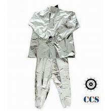 Marine fireman protective suit