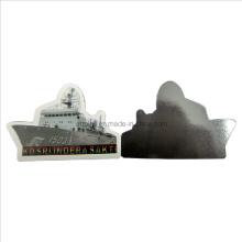 Ímã do refrigerador de Custompvc com forma do navio (FM-08)