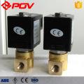 Válvula solenóide diminuta de alta pressão 24vdc normalmente fechada