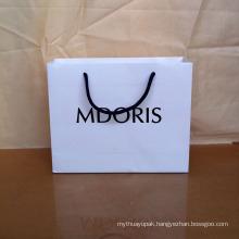 Foldable Custom Printed Paper Straw Shopping Bag