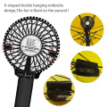 Draagbare LED Light Mini Fan Light Metal Motor