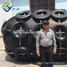 hydro pneumatic rubber fenders for submarine and ship