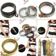 Colorido / ouro / arma metal cinto de aço inoxidável para a decoração do vestido da senhora (SB1-5)