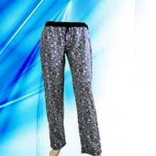 100% Cotton Lady′s Allover Print Lounge Pants