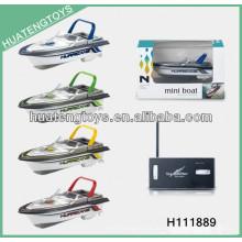 2013 neue Art Mini 4 Kanal rc Hochgeschwindigkeits-drahtlose Bootsspielzeug H111889