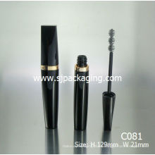 Arabic Material Tubo Cosmética Empaquetado café rimel tubos jóvenes negro mascara tubo