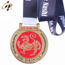 2018 nuevas medallas de encargo del desafío del karate del metal del esmalte del diseño