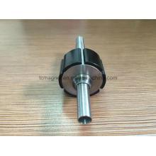 Ímãs de rotor com revestimento epóxi preto