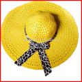 New Women Beach Hat Lady Cap Wide Brim Floppy Fold Summer Sun Straw Hat