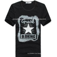 Organisches Baumwollmann-T-Shirt, Art- und Weiset-shirt