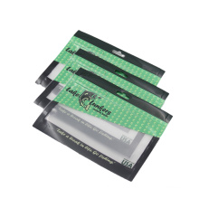 Custom Printing Clear Window Zipper Fish Lure Packaging Pouch Bags Plastic Fishing Bait Bags