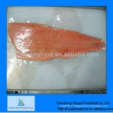 Filets de saumon atlantique congelés avec un excellent prix