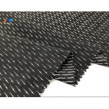 Tissu Sergé Nida Formel Noir Rayonne Marvijet Polyester