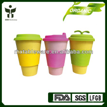 2014 горячая продажа бамбуковой чашки кофе волокна